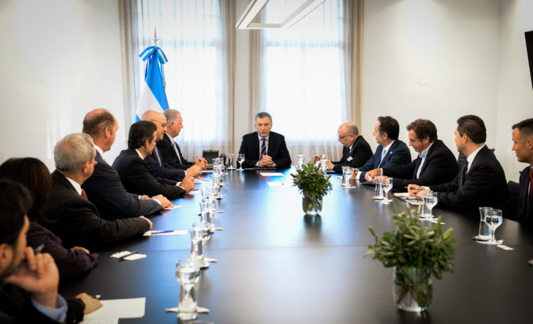 Congressional delegation meeting with President Macri