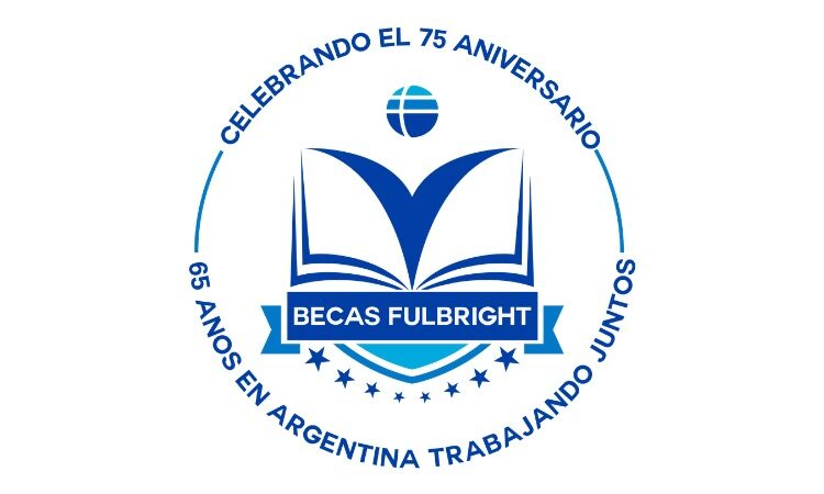 Logo aniversario Fulbright