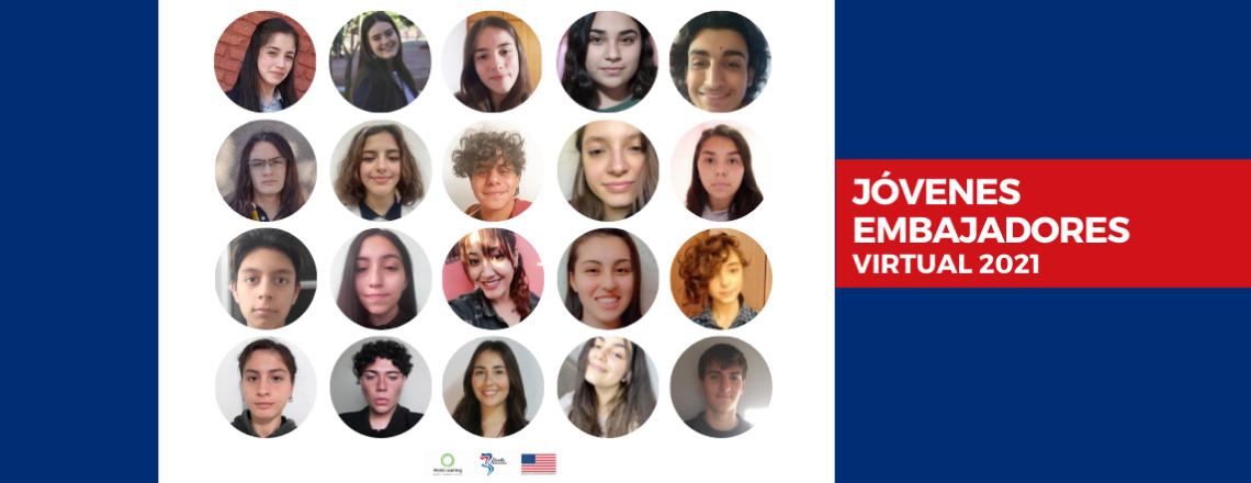 ¡Felicitaciones a los seleccionados del Programa Jóvenes Embajadores 2021!