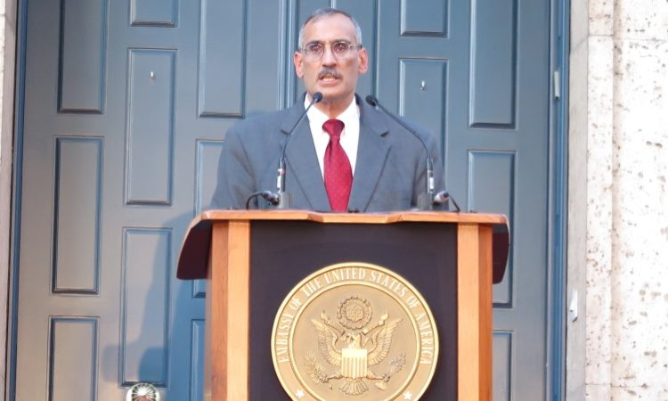 Krishna Urs (foto: Embajada EE.UU.)