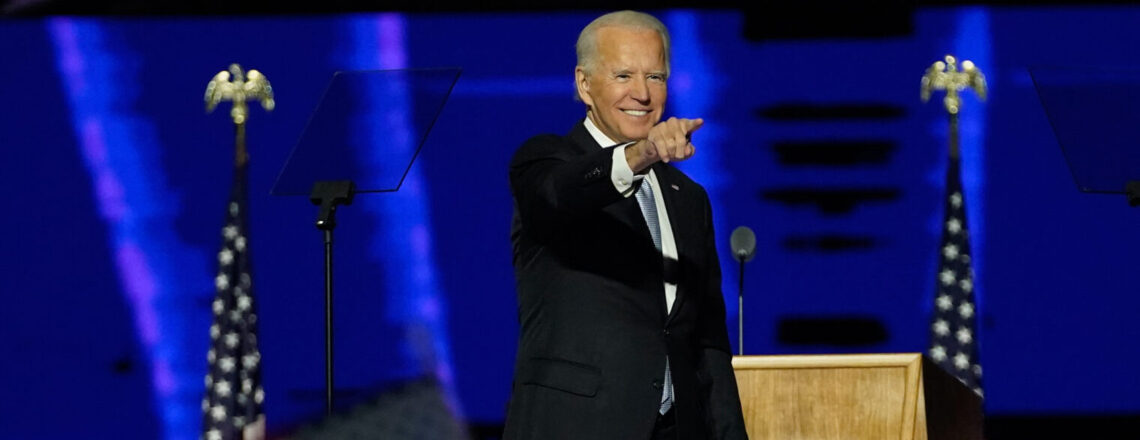 Joe Biden: 46th president of the United States.
