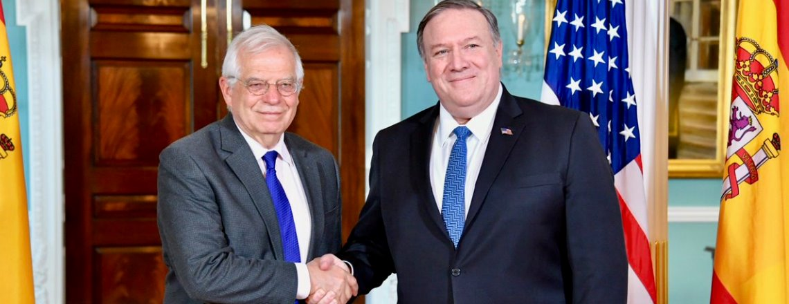 Secretary Pompeo's Meeting With Spanish Foreign Minister Josep Borrell