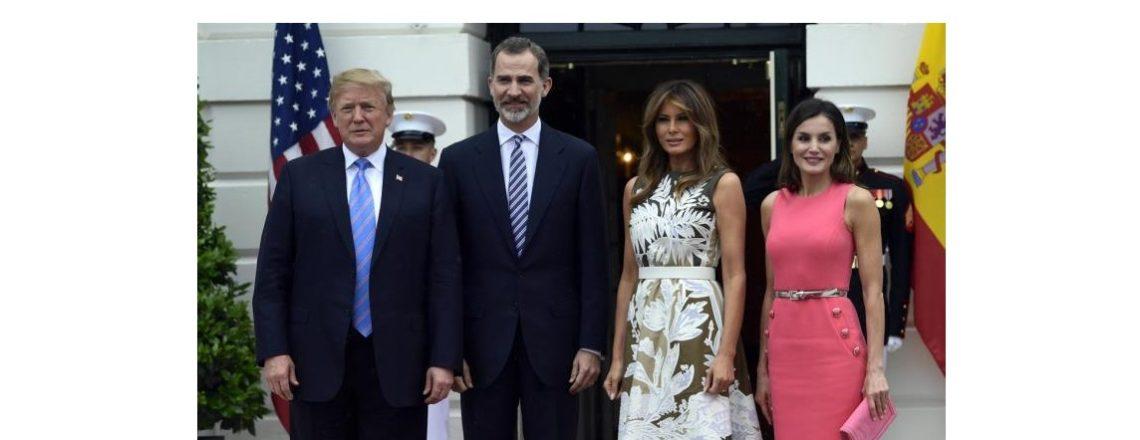 El Presidente Trump y la Primera Dama anuncian una visita de Estado de España