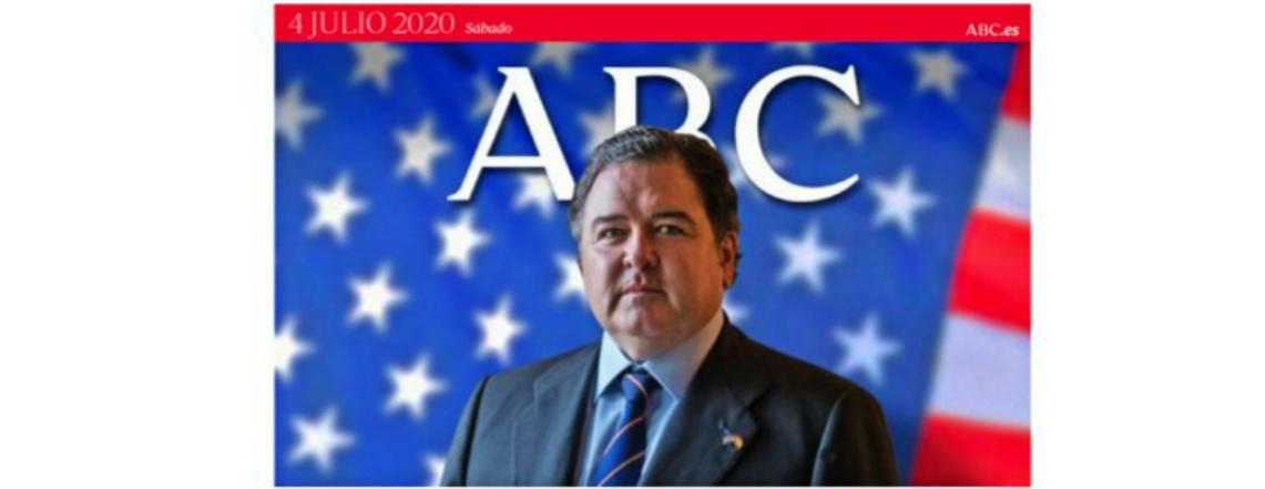 Entrevista al Embajador Buchan del diario ABC. 4 de julio de 2020