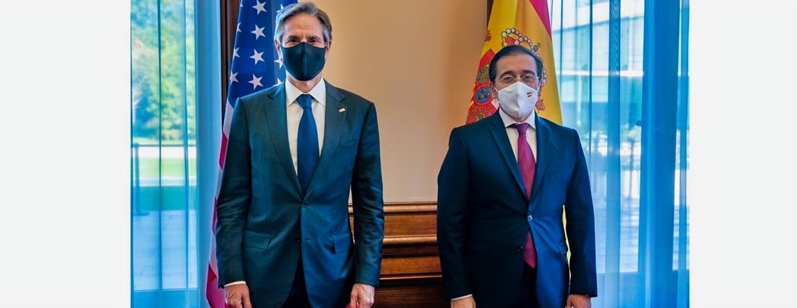 Secretary Blinken's Meeting with Spanish Foreign Minister Albares