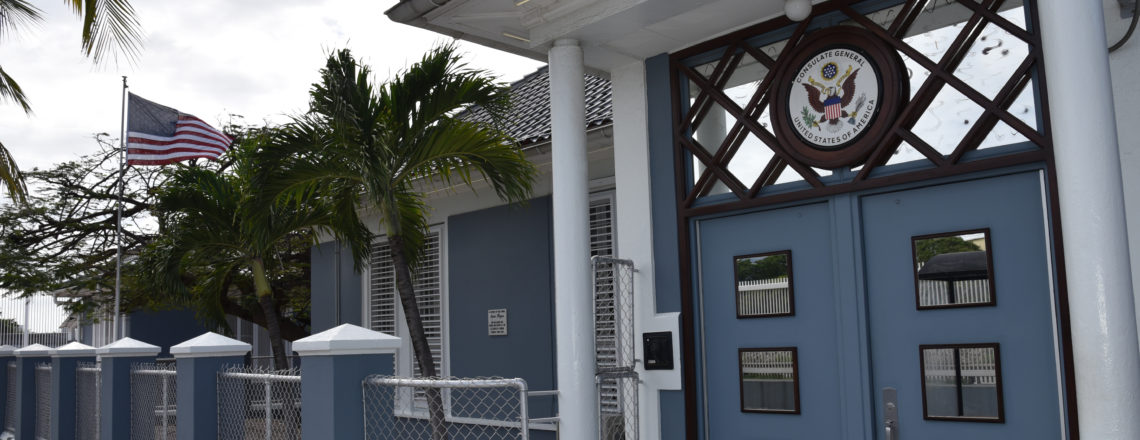 U S  Consulate in Curacao