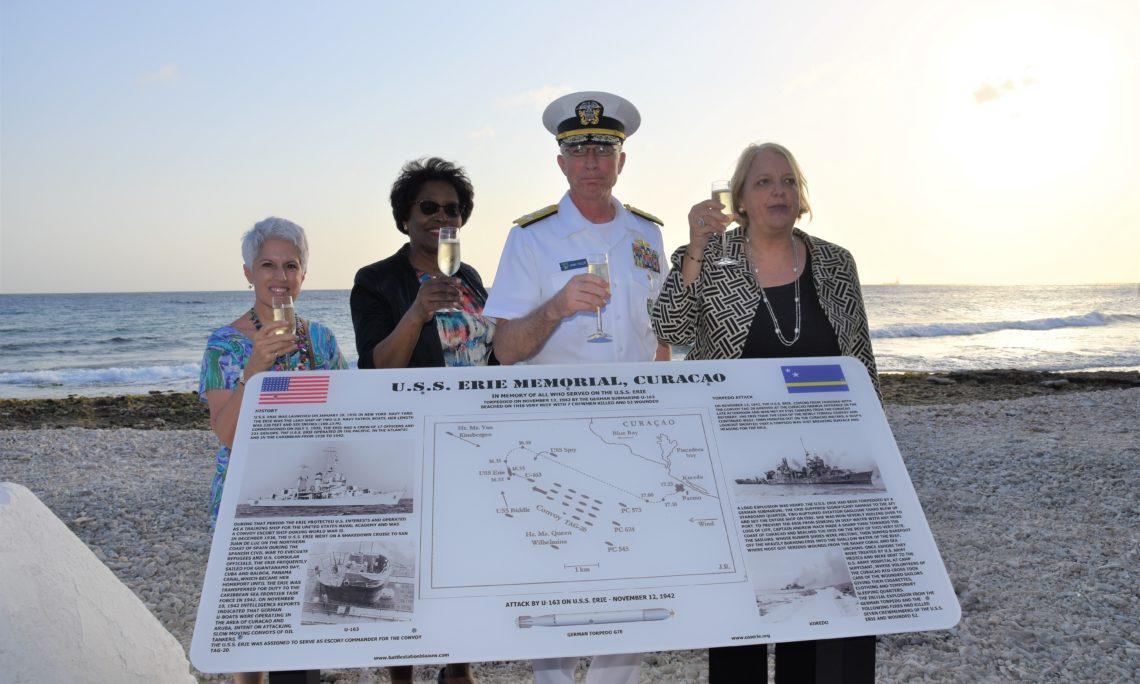 USS Erie Monument Unveiling
