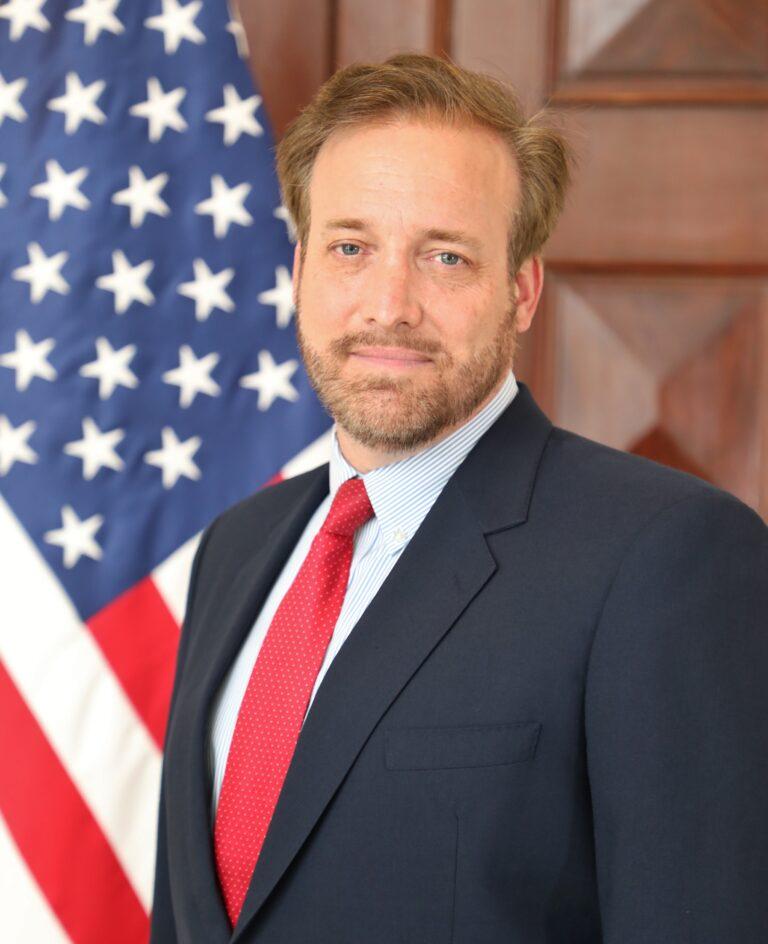 Photo of Chargé d'Affaires a.i. Stewart Tuttle