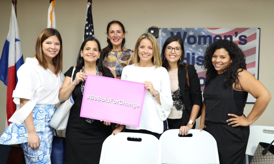 Women's History Month panel in Panama