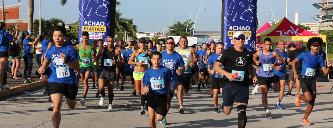 #ChaoPlásticoDesechable Race Strengthens Efforts to Reduce Plastic in Panama