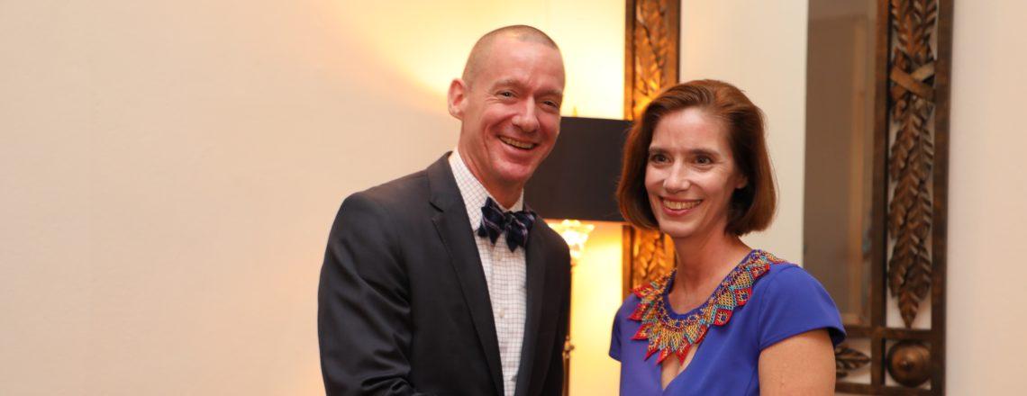 Philip Laidlaw asume como nuevo jefe de misión interino de la Embajada de Estados Unidos