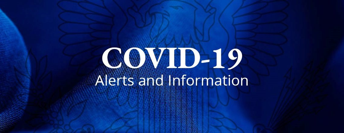 Alerts and Information for U.S. Citizens on COVID-19