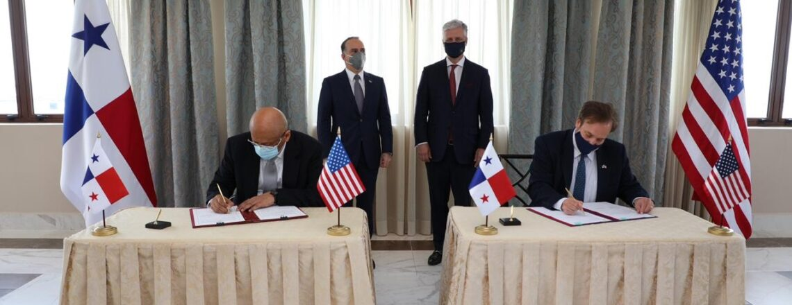 The U.S. and Panama signed an expanded MOU under the flagship América Crece program