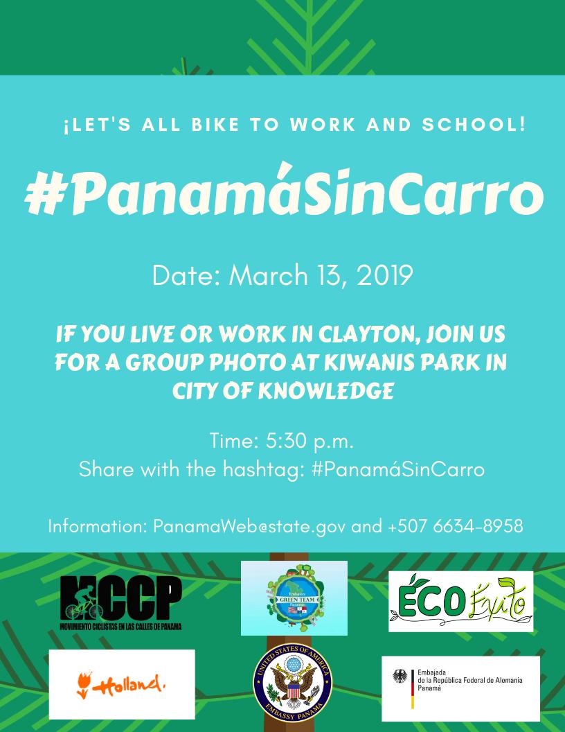 Carro In English >> Panama Sin Carro Flyer U S Embassy In Panama