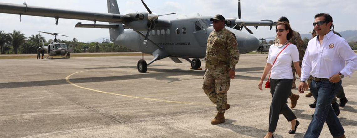 United States Donates New Hangar and Equipment to Panama's Security Forces