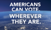 Americans can vote wherever they are