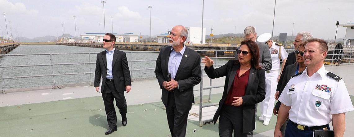 Visita a Panamá del Subsecretario Adjunto de Defensa refuerza relaciones de seguridad