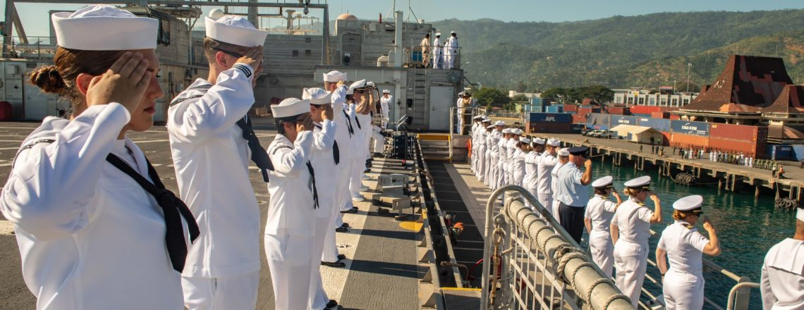 U.S. Naval Ship Fall River Arrives in Dili for Pacific Partnership 2019