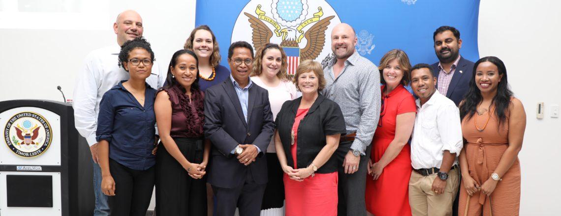 Six Young U.S. Political Leaders Visit Timor-Leste for Exchange Program