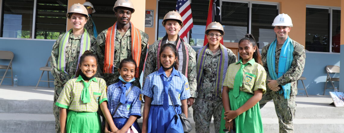 U.S. Navy Seabees Complete 100th Construction Project in Timor-Leste