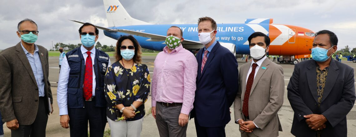 U.S. Joins Timor-Leste in Welcoming Arrival of COVAX Vaccine