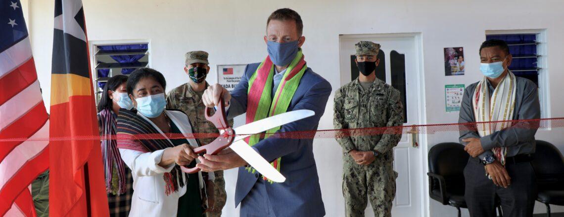 U.S. Navy-Supported KADABUNAK Health Clinic Refurbishment Complete