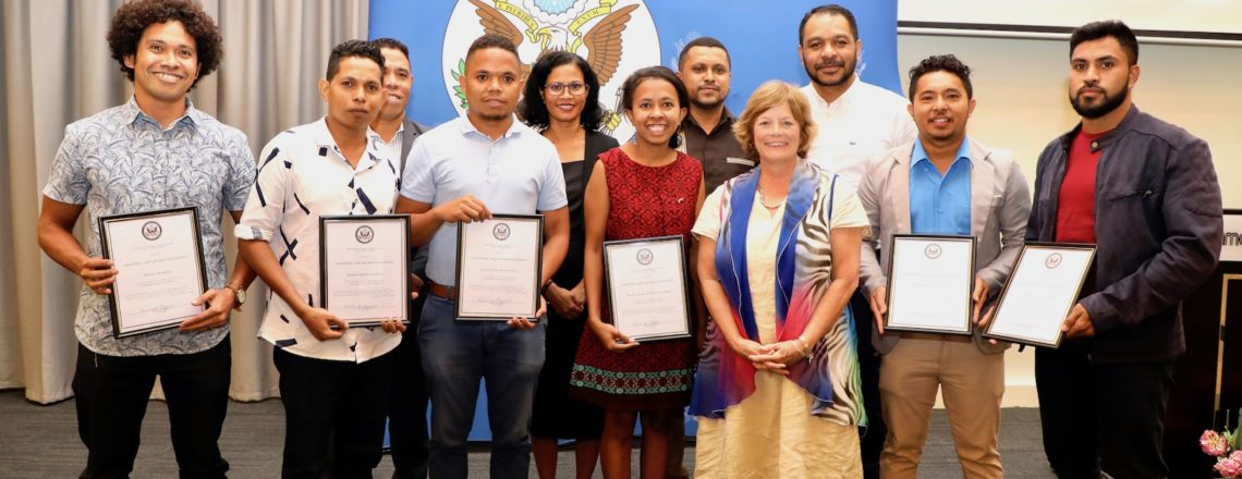 U.S. Embassy, TL Government, and Bayu-Undan Joint Ventures Honor Timorese Scholars