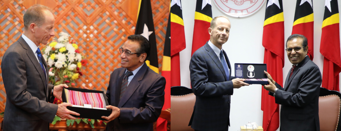 Assistant Secretary David R. Stilwell Visits Timor-Leste