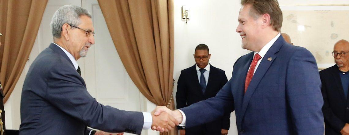 Novo Embaixador dos EUA em Cabo Verde, Jeff Daigle