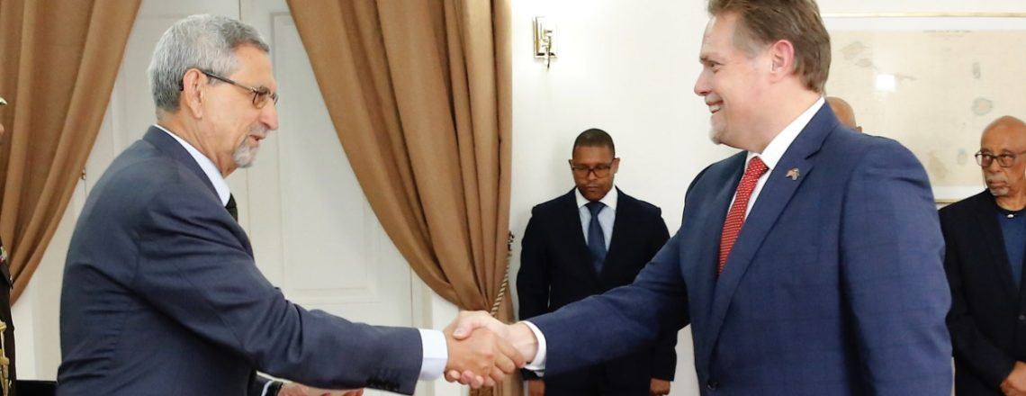 New U.S. Ambassador to Cabo Verde, Jeff Daigle