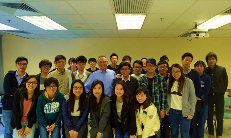 Mr. Wang and students (State Dept.)