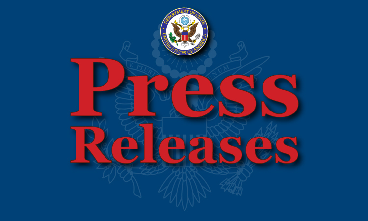 Press Releases (State Dept.)