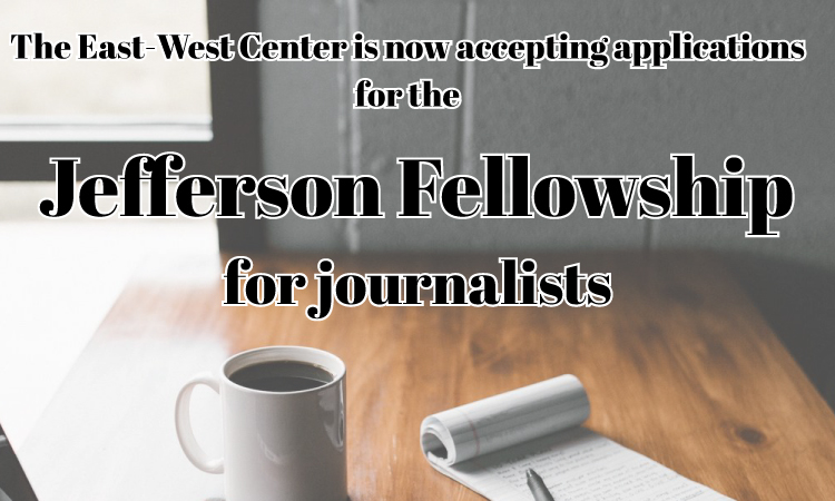 2018 Jefferson Fellowships (State Dept.)
