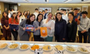 Local Culinary Students Sample American cheeses with Agricultural Trade Office (© School of Hotel and Tourism Management, the Hong Kong Polytechnic University)