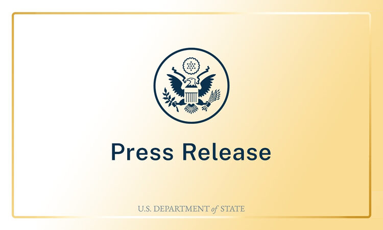 Press Release - Department of State