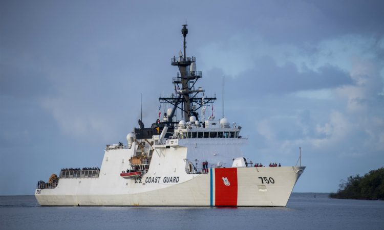 U.S. Coast Guard Cutter Bertholf (WMSL 750) (U.S. Navy Photo by Mass Communication Specialist 2nd Class Justin R. Pacheco)