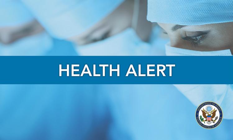 Health Alert (State Dept.)
