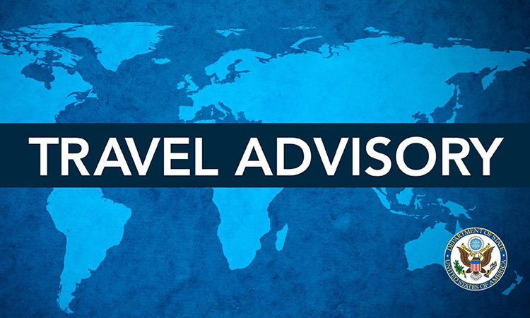 Travel Advisory (State Dept.)
