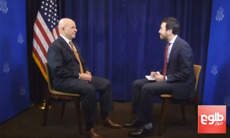 U.S. National Security Advisor H.R. McMaster Interview with TOLO News