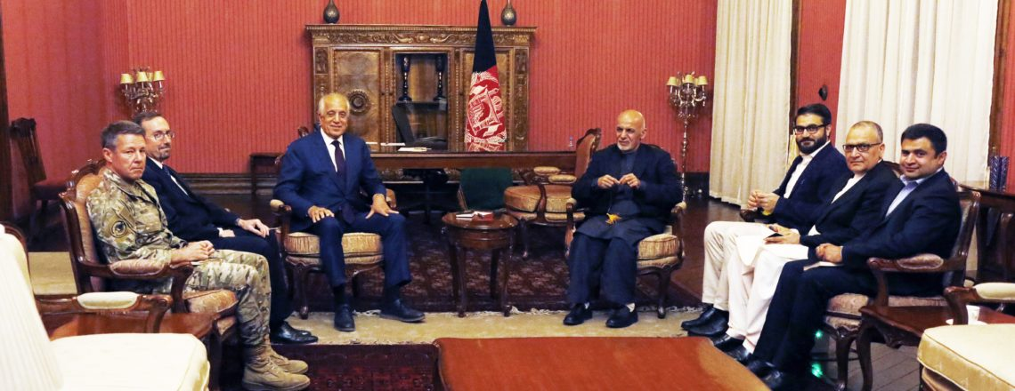 Special Representative for Afghanistan Reconciliation Visits Kabul