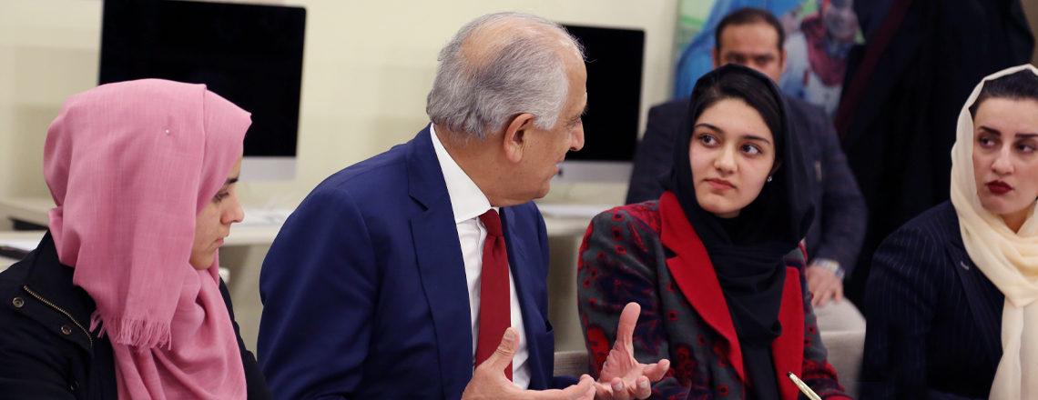 Ambassador Khalilzad Visits Afghanistan February 1-2, 2020