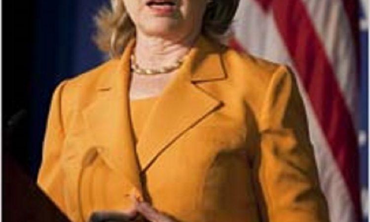 Speech by Secretary Clinton on U.S. Global Health Initiative (Photo Credits: AP Images)