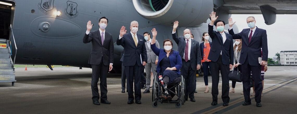 U.S Senators announced the U.S. will deliver 750,000 COVID vaccine doses to Taiwan soon