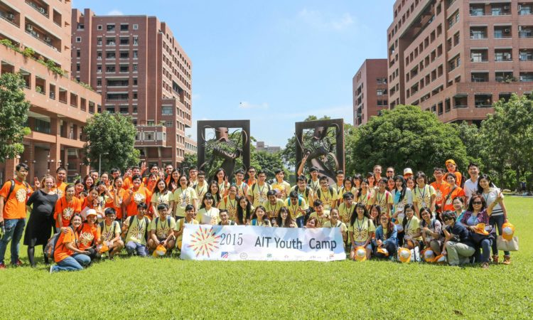 2015 AIT Youth Camp Opens in Tainan