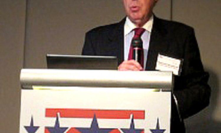 美國在台協會主席薄瑞光應邀於美國商會年會演講 (Photo: AIT Images)