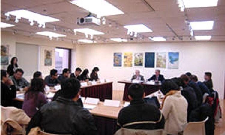 美國在台協會主席薄瑞光與媒體茶敘 (Photo: AIT Images)