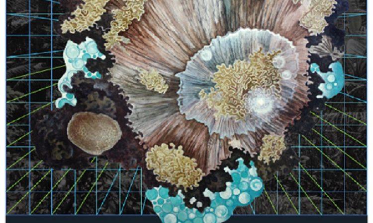 PR-1120C | 2011年4月22日 美國藝術家暨傅爾布萊特學人克雷格•沃里尼將於4月22日至5月31日,在國立海洋生物博物館舉行「墾丁礁岩– 抽象畫個展」。