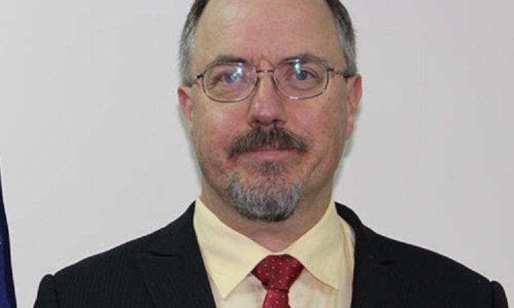 哈國瑞 (Gregory Harris) 於8月8日就任美國在台協會高雄分處商務組組長。 (Photo: AIT Photo)
