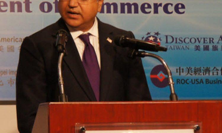 美國商務部助理部長蘇雷許庫馬爾 (Suresh Kumar) 向台灣商界人士演說, 2011年09月14日 (Photo: AIT Images)