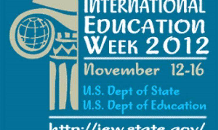 美國在台協會慶祝2012年國際教育週11月12日~16日 (Photo: State Dept.)